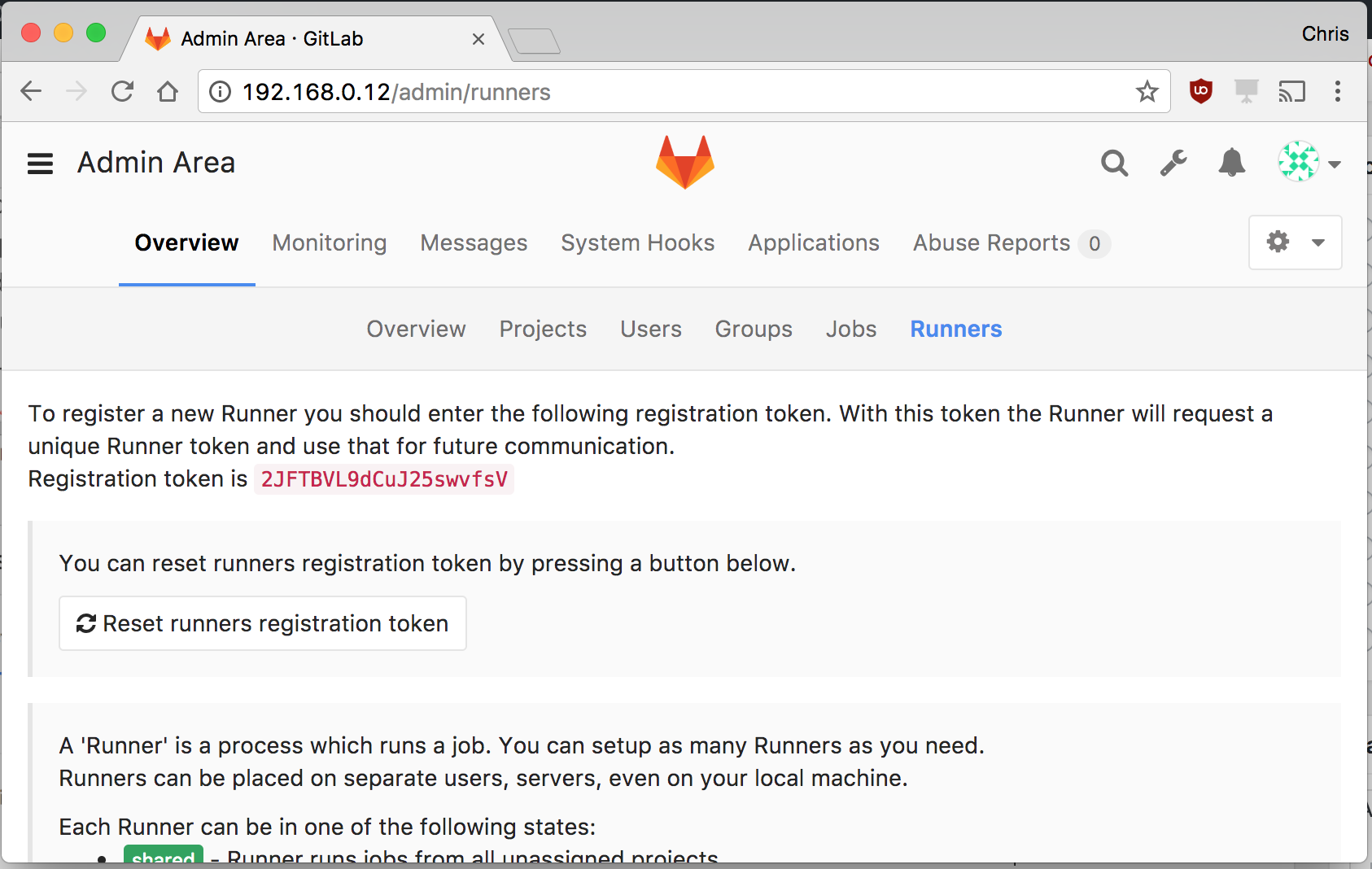 gitlab-runner-token